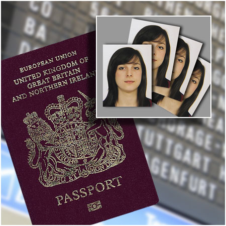Passport and ID photographs by Laceys Studios